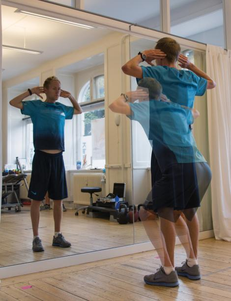 Henrik Them Squat Spejl test